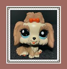 Authentic Littlest Pet Shop Lps #2130 Mocha Lhasa Apso Dog Puppy