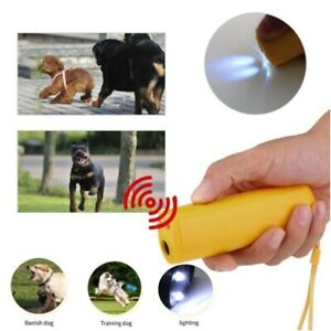 Powerful Ultrasonic Dog Repeller Anti Barking Outdoor For Pet Control Training A