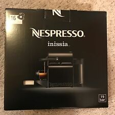 Nespresso Inissia Espresso Maker, BLACK - BRAND NEW, Factory Sealed