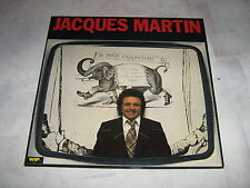JACQUES MARTIN 33 TOURS FRANCE LE PETIT RAPPORTEUR