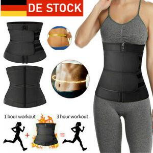 Damen Bauchweggürtel shapewear Taillenformer Elastisch Taillenmieder Korsett DE