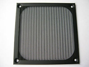 eXXtreme CPU 120mm Metal Frame Dust Filter - Black