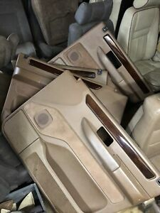 RANGE ROVER P38 Door Cards 94 To 02 Tan Rare.