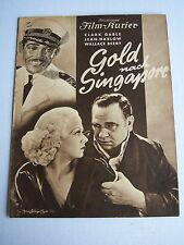 Clark Gable, Jean Harlow, China Sea, Illustrierter Film Kurier, in German, 1935