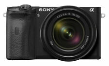 Sony Alpha a6600 24.2MP Mirrorless Camera - Black (with 18-135mm Lens Kit)