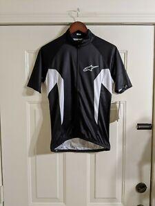 AlpineStars Mens Nemesis Cycling Jersey Medium New with Tags