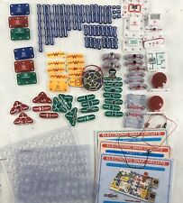 huge lot ELECTRONIC SNAP CIRCUITS 3 BOOKLETS PROJECTS  PARTS pieces
