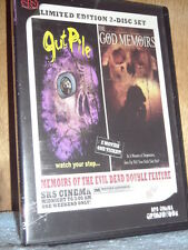 Memoirs of the Evil Dead - Gut Pile/The God Memoirs (DVD, 2008, 2-Disc Set, G...