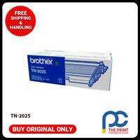 New & Original Brother TN-2025 BLACK Toner - for HL2040 2070N DCP7010 MFC7220