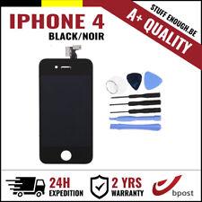 A+ LCD TOUCH SCREEN VITRE DISPLAY/SCHERM/ÉCRAN BLACK NOIR & TOOLS FOR IPHONE 4