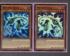 Super Rare Holo Set - Holding Arms MIL1-EN003 & Holding Legs  MIL1-EN004