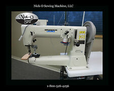 """NEW Juki TSC-441 16"""" SPECIFICALLY SET UP FOR LEATHER, 7/8"""" Thick & T416 Thread"""