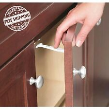Safety 1st Wide Grip Latches 14 Pack Child Baby Cabinet Locks Drawer Kids Proof
