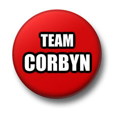 Team Corbyn 1 Inch / 25mm Pin Button Badge Jeremy Jezza Labour Party Leader
