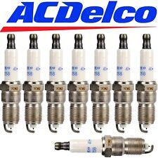 8 - CHEVROLET GMC SPARK PLUGS ACDelco 41-962 Platinum Spark Plugs 19299585