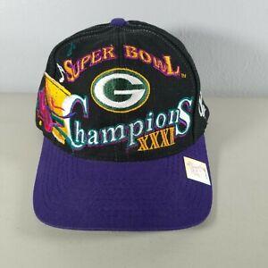 Green Bay Packers Super Bowl Hat Snapback NFL Vintage Champions 1997