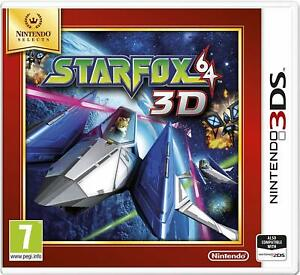 Star Fox 64 - Nintendo Selects - 3DS **NEW and SEALED**