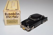 ~ BROOKLIN BRK 17 1952 STUDEBAKER CHAMPION STARLIGHT COUPE BLACK MINT BOXED