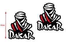 2 Adesivi Vinile Stickers Auto Moto GP DAKAR Paris Rally KTM Yamaha Citroen Race