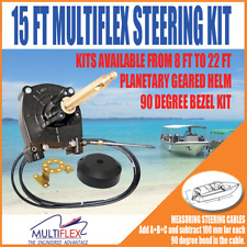 Multiflex Boat Steering Kit 15FT/4.57m Cable Suit Teleflex Ultraflex