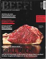 BEEF! Grill mich! Hotdog Luxussteak Heft Nr. 15 Ausgabe 3/ 2013 Sehr gut!