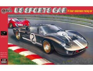1/12 Maquette FORD GT40 MKII LE MANS 1966 - TRUMPETER - TRU-5403