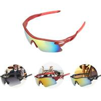 UV400 Lens Outdoor Sun Glasses Sport Cycling Bicycle Bike Riding Eyewear Goggles