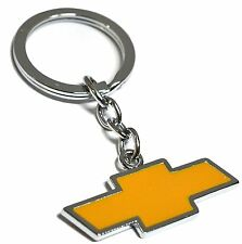 Boxed Chevrolet Keyring NEW UK Seller Silver Yellow