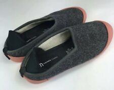 Mahabis Classic Shoes/Slippers EU38 Rubber Soles Gray/Salmon