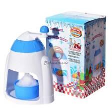 1pcs Ice Shaver Machine Snow Cone Maker Shaving Crusher Drink Slushy Maker