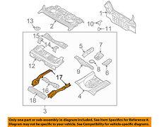 Chevrolet GM OEM 04-08 Aveo Floor Rails-Rear-Rail Right 96408223