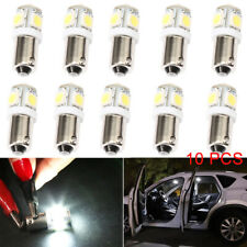 10x 5SMD BA 9S T4W 5050 Auto Innenraum LED Standlicht Lampe Birne Weiß 12V 6000K
