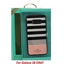 Kate Spade Hardshell Stripe Black/Rosegold Case For Samsung Galaxy S8 OEM