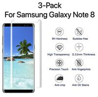 3-Pack Case Friendly Tempered Glass Screen Protector For Samsung Galaxy Note 8