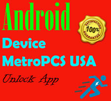 Android DEVICE UNLOCK APP MetroPCS SAMSUNG LG K10 Leon Stylo 2 ZTE ZMAX PRO K7