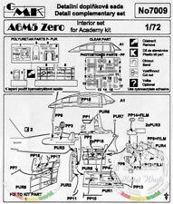 CMK CZECH MASTER'S KITS 7009 - A6M5c ZERO INTERIOR SET - 1/72 RESIN KIT