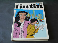 HERGE ALBUM DU JOURNAL TINTIN FRANCAIS N°93 (1237 a 1249)