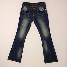 Red Pepper Japan & Co. women's jeans, 1971 series, s 26 waist, embellished denim