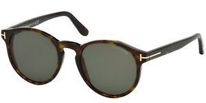 Tom Ford IAN-02 FT 0591 Dark Havana/Green 51/20/145 unisex Sunglasses
