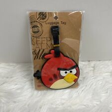 "NEW The Angry Birds ""Big Red""  I.D. Luggage Tag Vacation Summer Spring Travel"