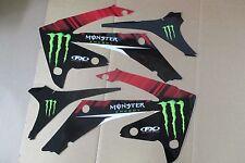 FX Team Monster graphics Honda 2010 2011 2012 13 CRF250R & 09 10 11 12 CRF450R