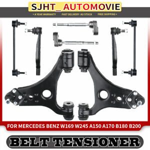 8pcs Lower Front Control Arm Kit for Mercedes Benz W169 W245 B180 A200 CDI 04-12
