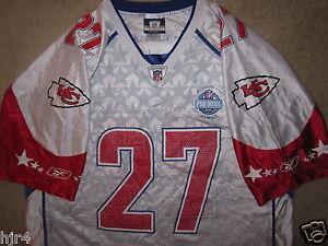 Larry Johnson #27 Kansas City Chiefs NFL Pro Bowl Reebok Jersey LG L