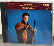 OPUS 3 CD-19406: KJELL FAGEUS - Solosonatas for Clarinet - OOP SWEDEN 2000s SS