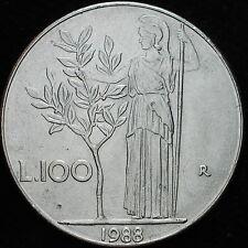 1988   Repubblica Italiana   100   lire