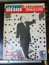 Howard Campbell Genii Magicians Magazine Feb 1956 no table of contents