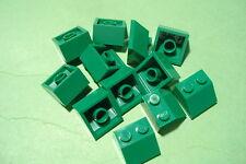 LEGO - 12 Schrägen 2x2 grün (11210)