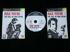 JEU Microsoft XBOX : MAX PAYNE 2 The Fall Of Max Payne (Rockstar COMPLET suivi)