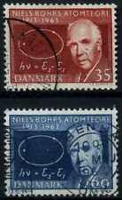 Danimarca 1963 SG#455-6 teoria Atomico di Bohr'S utilizzati Set #D67950