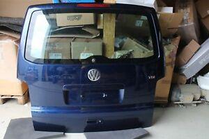 Heckklappe VW T5 California 2006 ShadowBlueMetallic LD5Q blau Isoliervereglasung